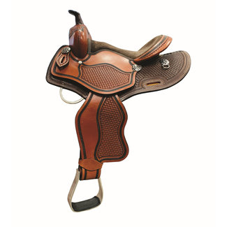 Country Legend Offspring Youth Trail Saddle