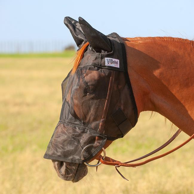 Cashel Quiet Ride Vliegenmasker met neus- en oorstukken