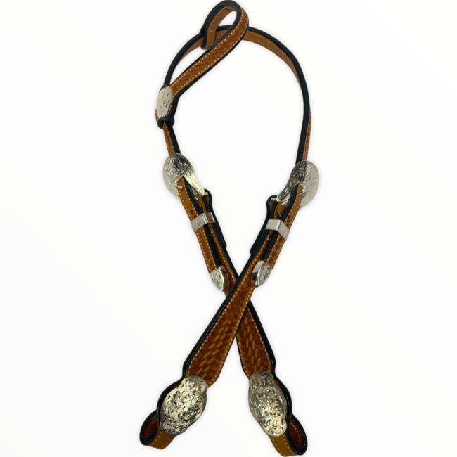 Cowperson Tack CT Showhoofdstel One-Ear Light
