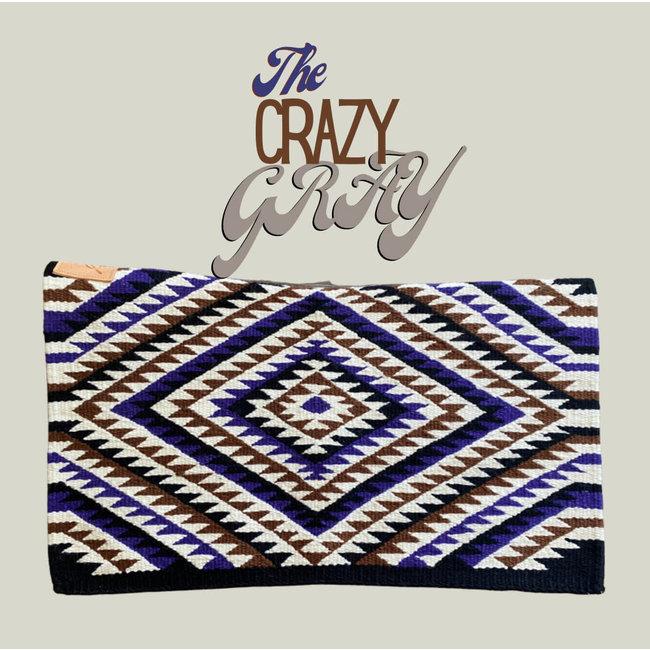 Cuttinup Show Blankets THE TWIGGY Contoured Show Blanket Crazy Grey