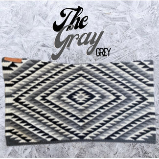 Cuttinup Show Blankets THE TWIGGY Contoured Show Blanket Grey Grey