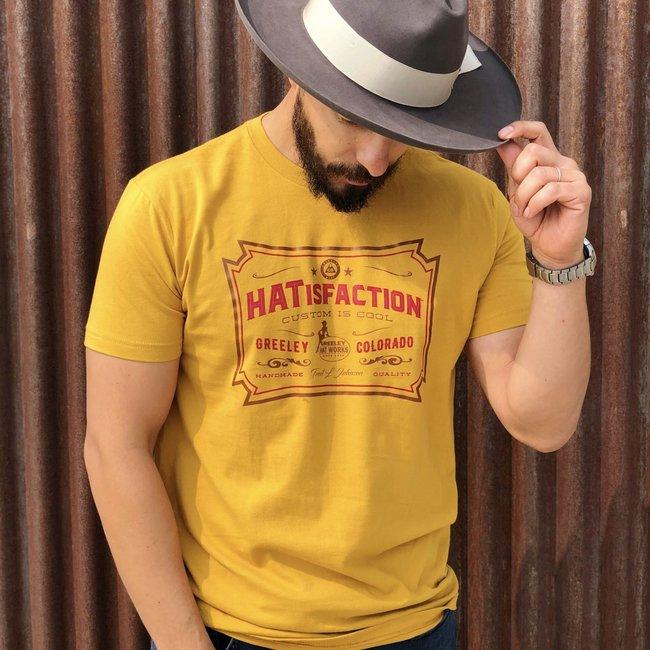 Greeley Hat Vintage #HATisfaction Tee Men