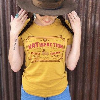 Greeley Hat Vintage #HATisfaction Tee Ladies