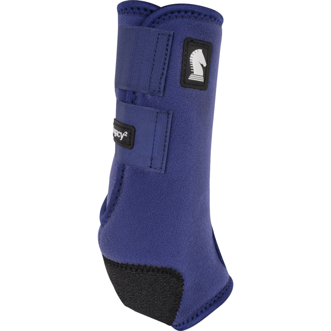 Classic Equine Legacy Boots Hind Solid Navy Medium