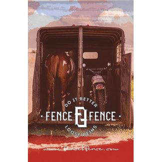 FENCE2FENCE Show Shirt Violet Homme 100