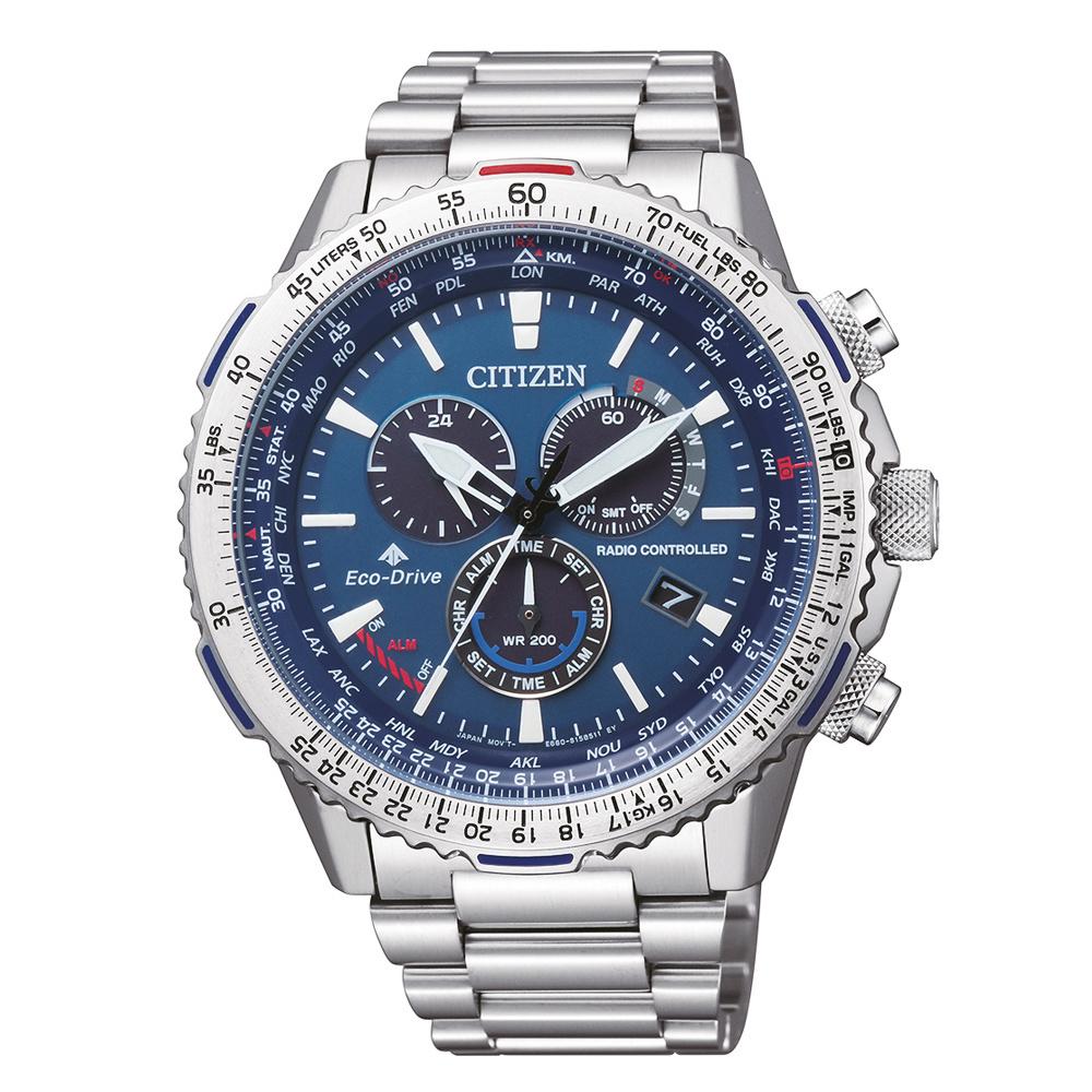 Citizen CB5000-50L radiogestuurd heren horloge