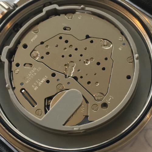 Horloge openen plastic beschermring