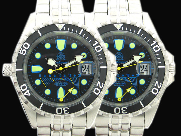 Tauchmeister Tauchmeister Flyback GMT duikershorloge T0173