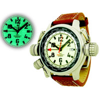 Aeromatic A1286 XXL Military Worldtimer horloge