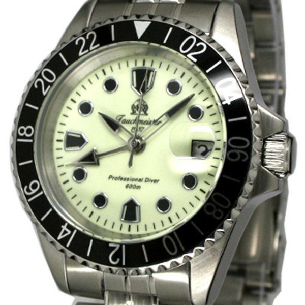 Tauchmeister Tauchmeister Professional Diver 60ATM GMT T0202