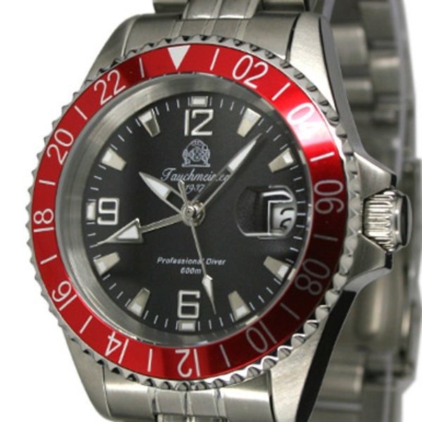Tauchmeister Tauchmeister Professional Diver 60ATM GMT T0203