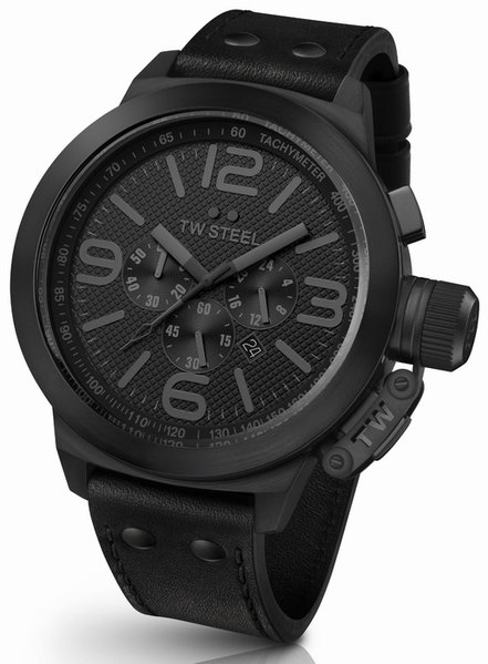 TW Steel TW Steel TW821 Cool Black Chrono horloge 50mm