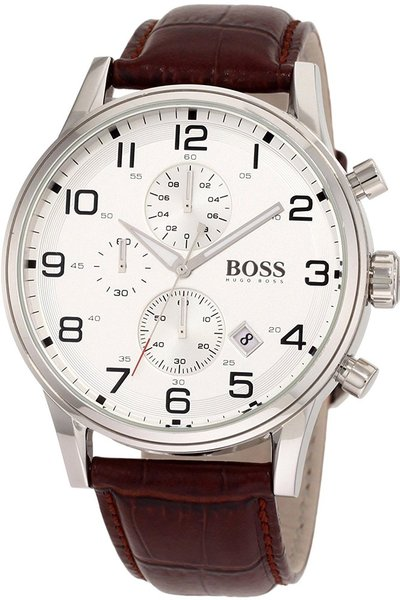 Hugo Boss HB1512447 Aeroliner Chronograaf herenhorloge 44mm