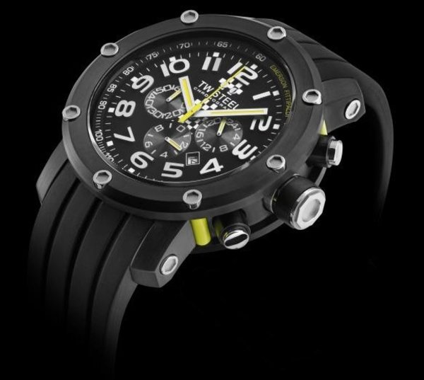 TW Steel TW Steel TW609 Emerson Fittipaldi Special Edition Horloge 45mm