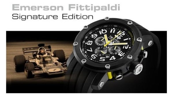 TW Steel TW Steel TW610 Emerson Fittipaldi Special Edition Horloge 48mm