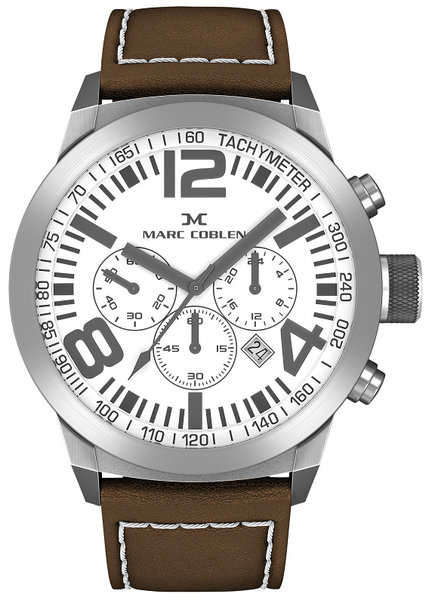 Marc Coblen Marc Coblen MC50S4 chronograaf herenhorloge 50mm
