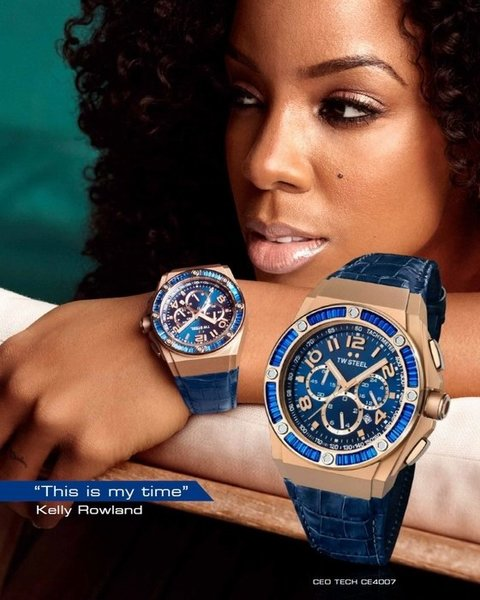 TW Steel TW Steel CE4007 CEO Kelly Rowland special edition horloge 44mm