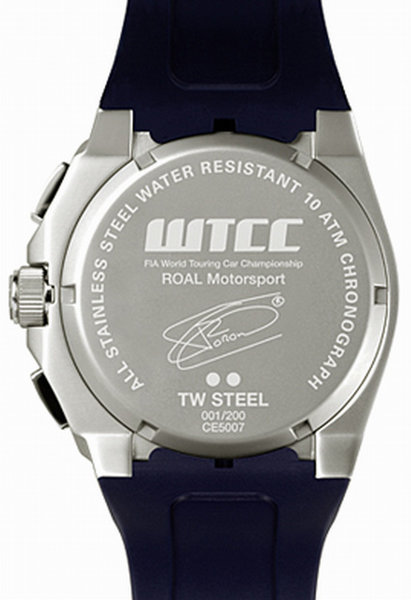 TW Steel TW Steel CE5007 Tom Coronel CEO Tech Diver Limited Edition horloge 48mm