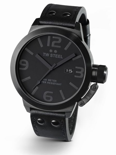 TW Steel TW Steel TW844 Cool Black horloge 45mm DEMO