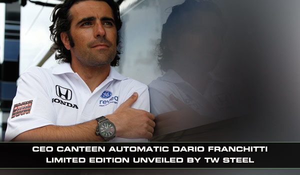TW Steel TW Steel CE1200 Automatic Dario Franchitti limited edition horloge