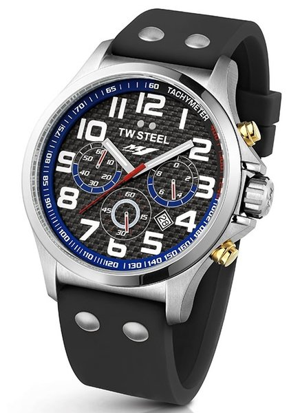 TW Steel TW Steel TW926 Yamaha Factory Racing horloge 45mm