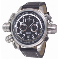 Aeromatic A1413 World Tour chronograaf herenhorloge