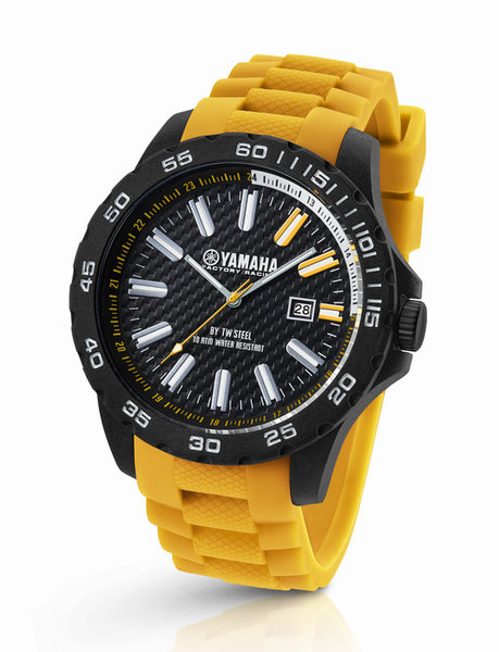 Yamaha Factory Racing horloge geel 40mm Y11