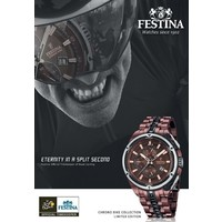 Festina Festina F16883/1 Tour de France 2015 chrono horloge LIMITED EDITION