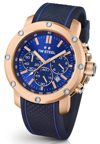 TW Steel TW Steel TS3 Grandeur Tech chronograaf herenhorloge 48mm