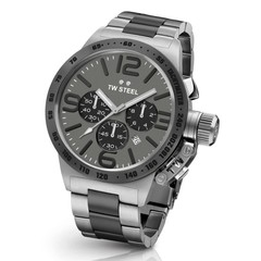 TW Steel CB204 Canteen Steel XXL chronograaf heren horloge 50mm