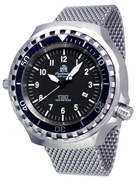 Tauchmeister Tauchmeister T0286MIL XXL automatisch duikers horloges 1000m