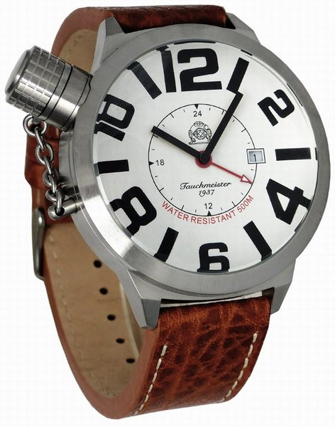 Tauchmeister Tauchmeister XXL WO II Duits horloge 52mm T0142B