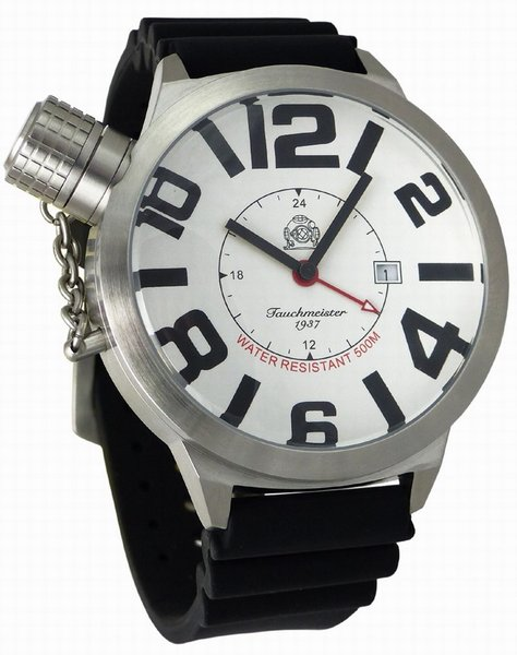 Tauchmeister Tauchmeister XXL WO II Duits horloge 52mm T0142PU