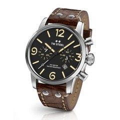 TW Steel MS3 Maverick chronograaf horloge 45 mm