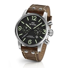 TW Steel MS13 Maverick chronograaf horloge 45 mm