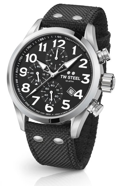 TW Steel TW Steel VS4 Volante chronograaf horloge 48mm
