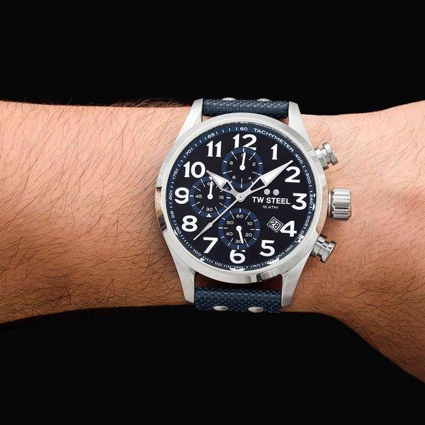 TW Steel TW Steel VS34 Volante chronograaf horloge 48mm