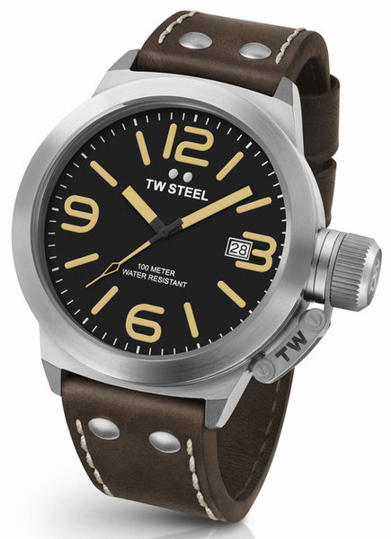 TW Steel TW Steel CS32 Canteen XXL heren horloge 50mm DEMO
