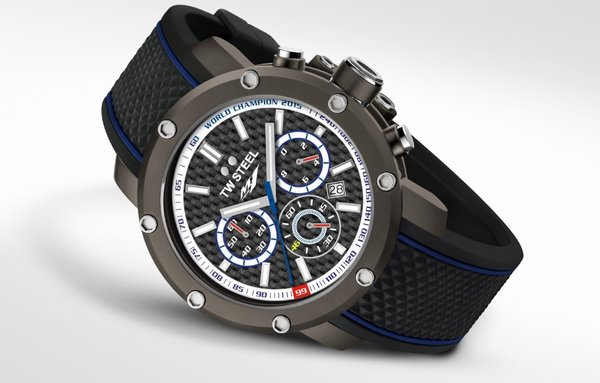 TW Steel TW Steel TS7 Yamaha Factory Racing herenhorloge 48mm DEMO