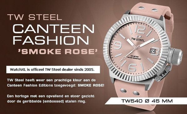 TW Steel TW Steel TW540 Fashion dames horloge 45 mm DEMO