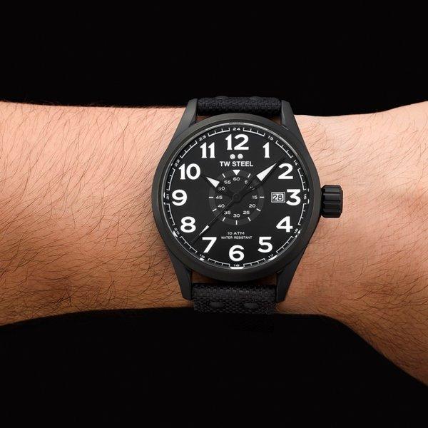 TW Steel TW Steel VS41 Volante horloge zwart 45mm