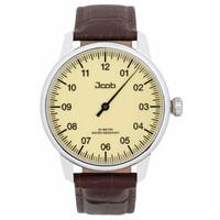 Jcob Jcob Einzeiger JCW001-LS01 beige herenhorloge