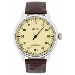 Jcob Einzeiger JCW001-LS01 beige herenhorloge