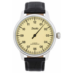 Jcob Einzeiger JCW001-LS02 beige herenhorloge