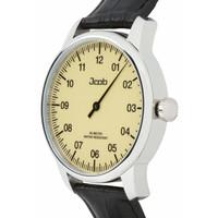 Jcob Jcob Einzeiger JCW001-LS02 beige herenhorloge
