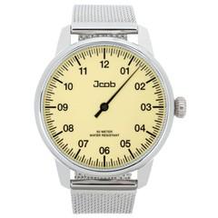 Jcob Einzeiger JCW001-SS01 beige herenhorloge