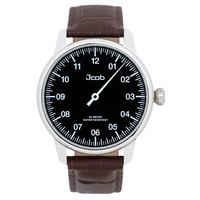 Jcob Jcob Einzeiger JCW002-LS01 zwart herenhorloge