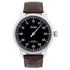 Jcob Einzeiger JCW002-LS01 zwart herenhorloge