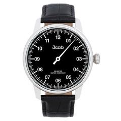 Jcob Einzeiger JCW002-LS02 zwart herenhorloge