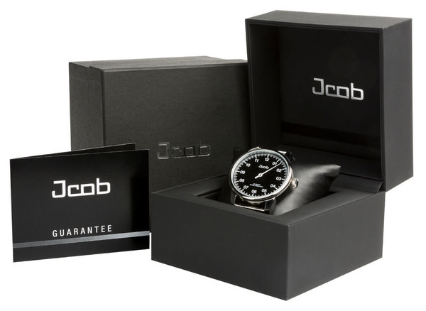 Jcob Jcob Einzeiger JCW002-LS02 zwart herenhorloge